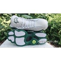 AJ13 Air Jordan 13 Allen Ray White Green Authentic Mj8SHJ5