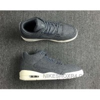 Air Jordan 3 Retro Wool Dark 854263-004 Discount JMSiD6S