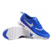 Super Deals Italy Mens Nike Air Max 87 90 Running Shoes On Sale Royal Blue And Silve MCP5H