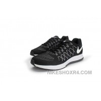 Men NK Air Zoom Pegasus 32 Shoes Black A03 Super Deals