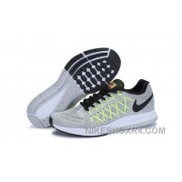 Men NK Air Zoom Pegasus 32 Shoes Light Gray A06 Authentic