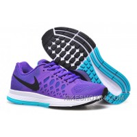 Cheap The New Nike Air Zoom Pegasus Womens Running Shoes Purple And Jade For Sale