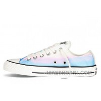 CONVERSE Chuck Taylor All Star Photo Real Sunset Print Blue Low Discount 7biCC