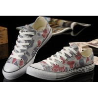 Summer CONVERSE Camouflage Nicolas Cage Soul Grey Red All Star Chucks Tops Canvas Sneakers Online BDyE6