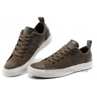 CONVERSE All Star City Lights Brown Ps Leather Chuck Taylor Canvas Sneakers Cheap To Buy S5FeA