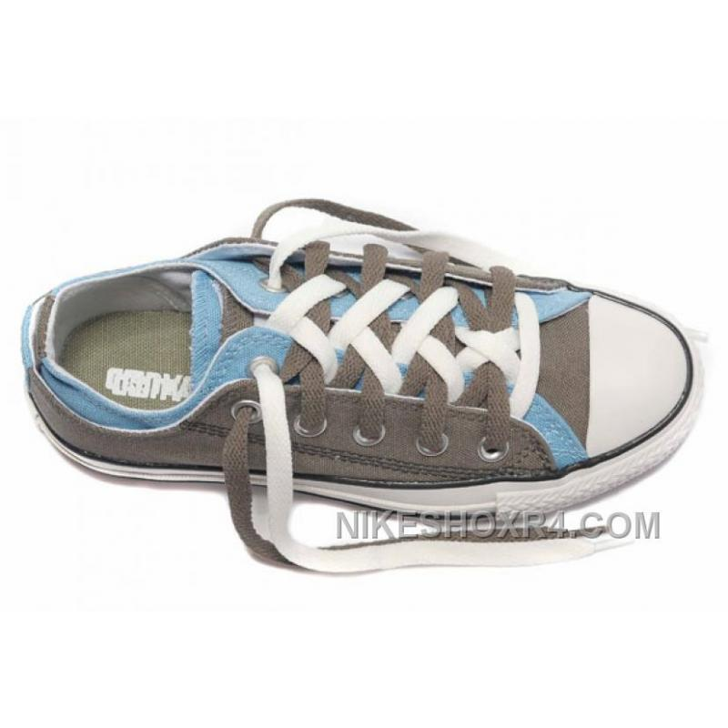 371a33376f0d ... CONVERSE Double Upper Doule Tongue All Star Grey Blue Tops Canvas Casual  Shoes Christmas Deals EayrY ...