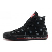All Star Black CONVERSE CT 100 High Tops Beluga Limited Edition Authentic Adm5K