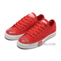 Red CONVERSE Tops Lightning Chuck Taylor All Star Canvas Shoes For Sale BB6N7