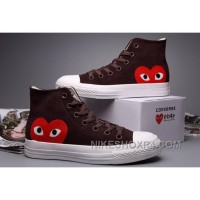 Brown High Tops CONVERSE Comme Des Garcons Suede Chuck Taylor All Star For Sale PC3A4