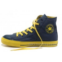 Dazzle Colour CONVERSE All Star Light High Tops Blue Yellow Casual Canvas Sneakers Online A8DWY