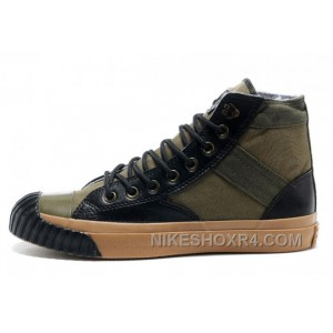5fcbe881cd USD  59.00  147.50. CONVERSE Army Green Mark Wahlberg Shooter All Star High  Tops Canvas Black Leather Edge Mens ...