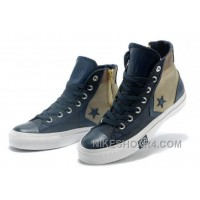 Golden Blue High Tops CONVERSE Clot X First String Pro MrSandman Chuck Taylor All Star Canvas Sneakers Authentic RXrsF