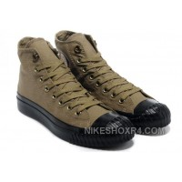Monochrome Khaki CONVERSE New York High Ps Canvas Black Sole Cheap To Buy FZjQy