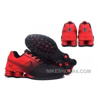 NIKE SHOX DELIVER 809 Red Black MGGYy