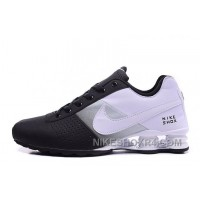 Men Shox Deliver Black White