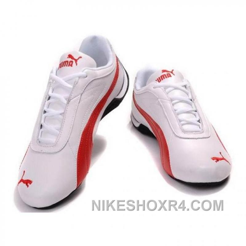 85d050f66061 ... Puma Future Cat GT Ferrari Sculptural Shoes In White Red Online XCb8Y  ...