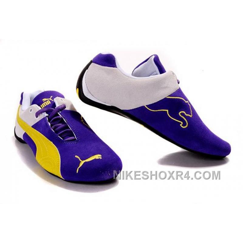 mens puma ferrari shoes blue yellow white for sale xzmyy