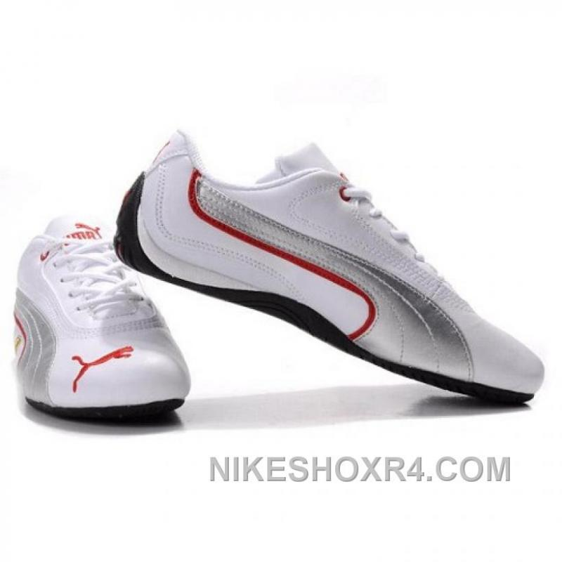 ... Mens Puma Ferrari Brazil In White Silvery 01 Super Deals NikEk ...