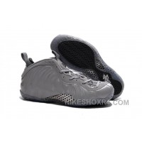 """2017 Nike Air Foamposite One Premium """"Wolf Grey"""" Authentic Zx8cd"""