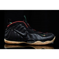 2017 Nike Air Foamposite Pro Black/Gym Red-Metallic Gold For Sale Lastest WaBmi
