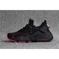 Nike Huarache 6 Generation FLYKNIT Air Max Zoom Air Drift PRM Black And Pink Online