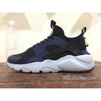 Four 4 Nike Air Huarache Run Ultra Navy Blue 819685-403 Super Deals