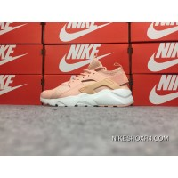 Nike Huarache 4 FLYKNIT Series Air Ultra Run BR Light Pink 833147-801 Latest
