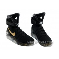 Nike Air Mag Back To The Future Limited Edition Shoes Black Gold Online 5Xe2A