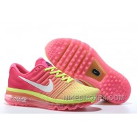 Authentic Nike Air Max 2017 Pink Volt White Online YS4wNA