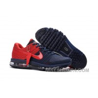 Authentic Nike Air Max 2017 KPU Navy Red Free Shipping F3pxXj4