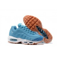 Nike Air Max 95 2017 Spring New Blue Women Discount NWNErat