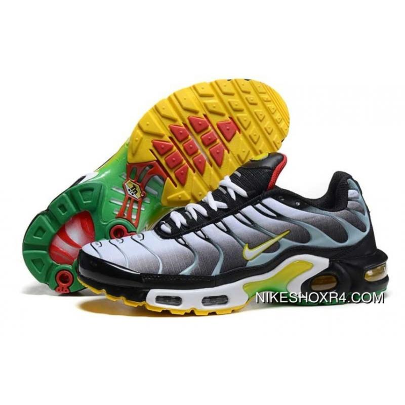 buy online 7be7e 4d5dd ... free shipping 2016 mens nike air max tn dark grey yellow red green  shoes online 2e195