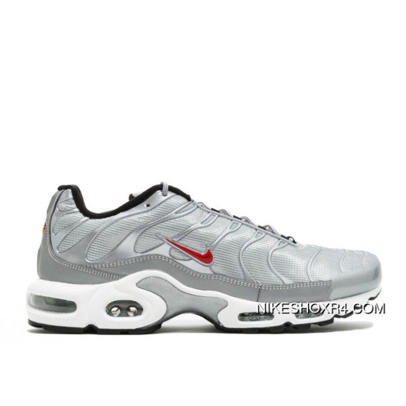 806a77d45b USD $90.38 $244.03. 2018 Nike Air Max Tn Plus Metallic Silver University Red  Outlet ...