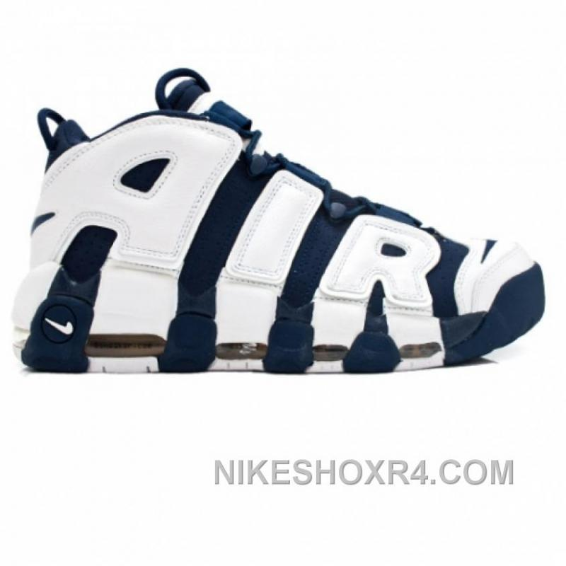 Nike Air More Uptempo Olympic Scottie Pippen 414962-401 Midnight Navy White  Spirit Red Xmas ...