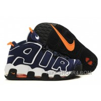 Mens Nike Air More Uptempo Dark Obsidian Orange White Hot ZMhY3