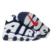 Nike Air More Uptempo Olympic Midnight Navy White Spirit Red Black Friday Deals PKNRk
