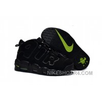 Womens Nike Air More Uptempo GS Black-Volt Girls Size For Sale Top WrdY7