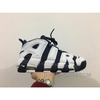Nike Air More Uptempo Pippen Black AIR White Blue Half Size Available Xmas Deals ZwTwS