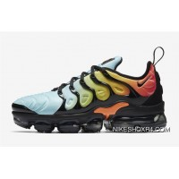 Womens Nike Air Vapormax Plus Bleached Aqua Black For Sale