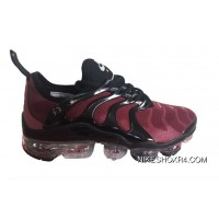 Mens Nike Air Vapormax Plus Shoes Burgundy/Black Copuon