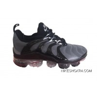 Mens Nike Air Vapormax Plus Shoes Wolf Grey/Black New Release
