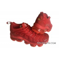 Mens Nike Air Vapormax Plus Shoes All University Red For Sale