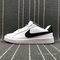 NIKE COURT ROYALE SL 844802-100 White Black Copuon