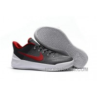 Cheap Nike Kobe A.D. 12 Wolf Grey Red White Copuon Code QZpTT8y