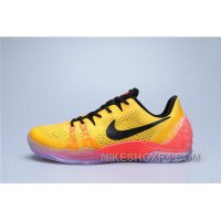 Nike Kobe Venomenon 5 Black Red Yellow Online ZTcrY