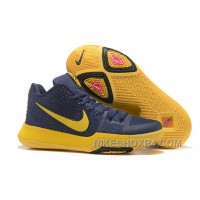 Nike Kyrie 3 Mens BasketBall Shoes Cavs Yellow Super Deals JzNDKP
