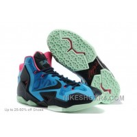 Nike Basketball Shoes Men Lebron 11 P.S. Elite Everglades Lastest A22wh
