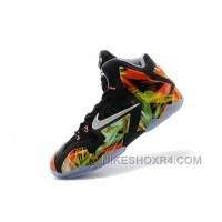 "Nike LeBron 11 ""Everglades"" Black/Metallic Silver-Wolf Grey-Atomic Mint For Sale Super Deals Sj3p5b"