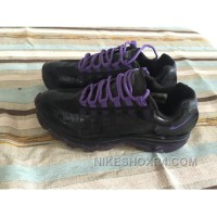 Nike Shox Black Purple Women Shoes Us Size 7