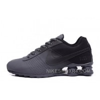 NIKE SHOX DELIVER ALL BLACK 2016 NEW